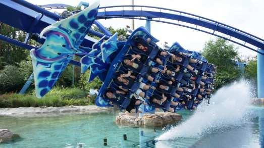 Manta at SeaWorld Orlando.