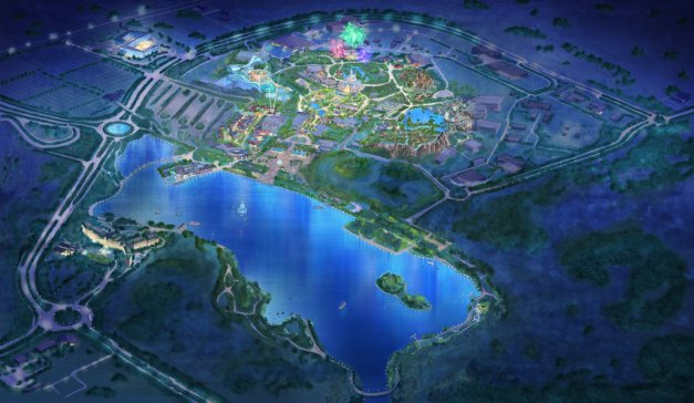 Aerial-View-Shanghai-Disney-Resort