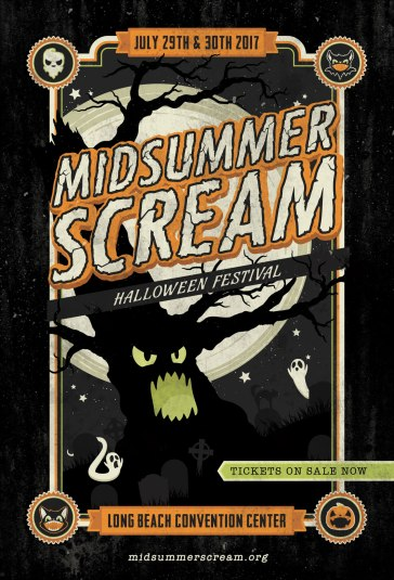 Midsummer Scream 2017_Postcard
