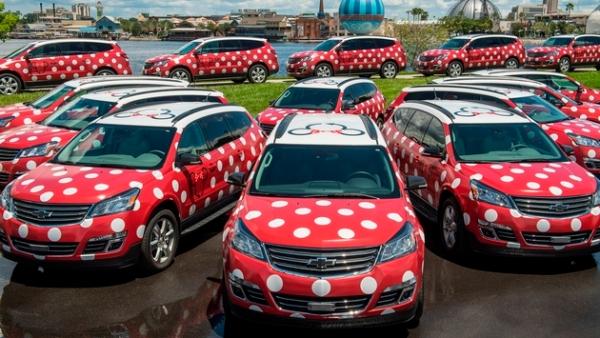 Minnie Van service at Walt Disney World Resort