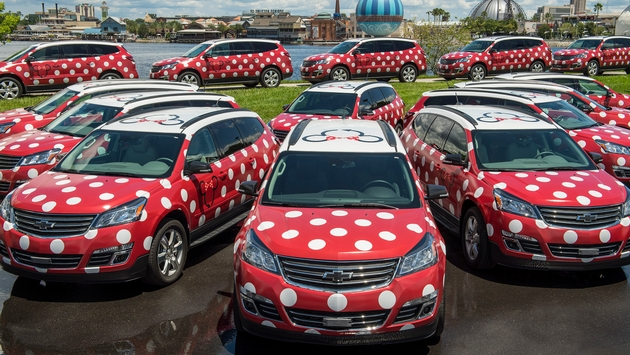Minnie Van service at Walt Disney World Resort