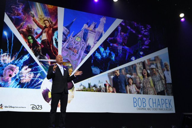 BOB CHAPEK (CHAIRMAN, DISNEY PARKS AND RESORTS)