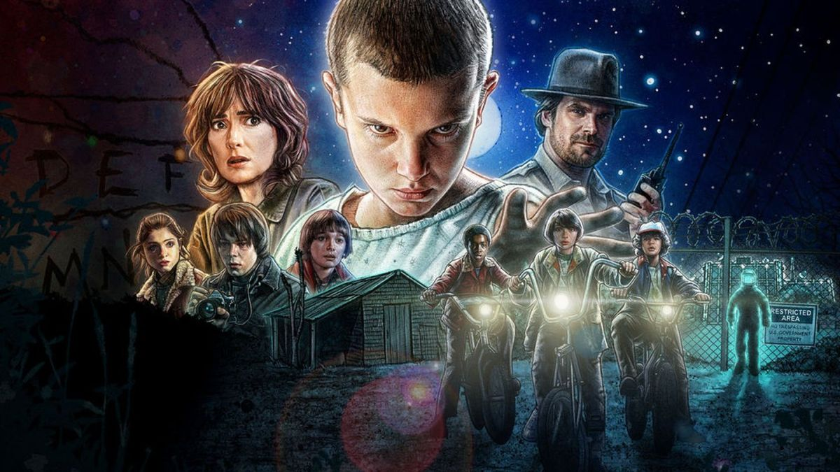 the upside down world of stranger things is coming towards halloween
