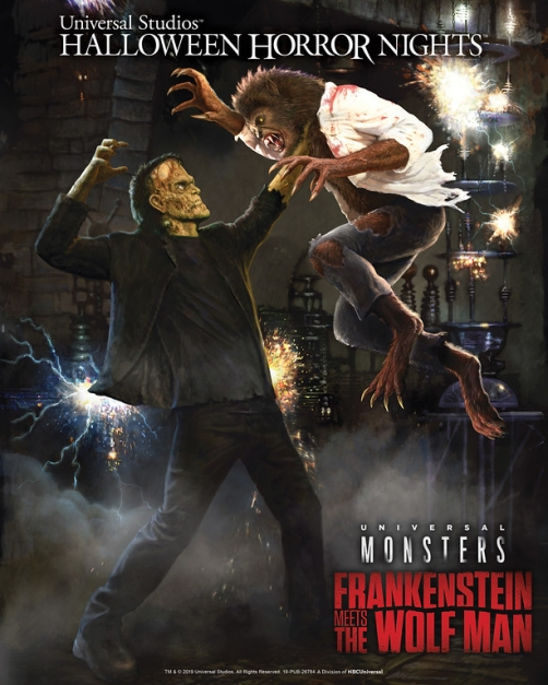 Frankenstein Meets The Wolf Man Maze at Universal Studios Hollywood's Halloween Horror Nights-XL