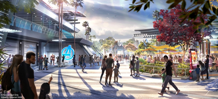 Avengers Campus at Disney California Adventure Park