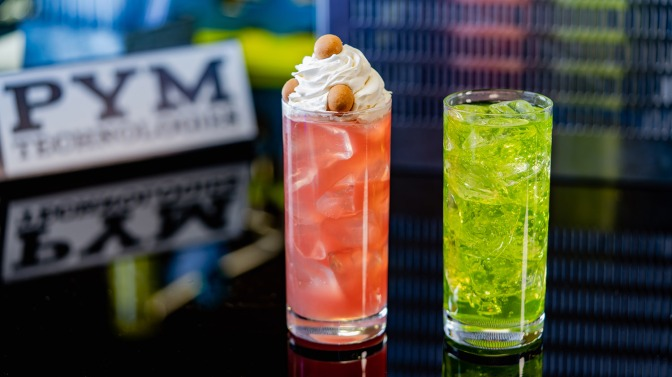 Avengers Campus Food & Beverage – Pym Tasting Lab and Pym Test Kitchen Beverages