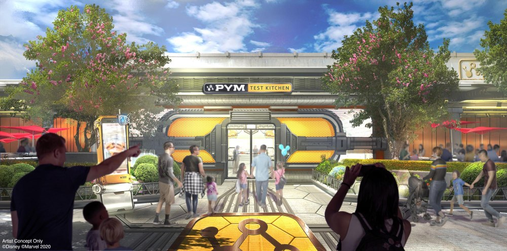 Pym Test Kitchen at Avengers Campus at Disney California Adventure Park