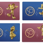 New 50th Anniversary MagicMobile Designs Now Available On The Walt Disney World App